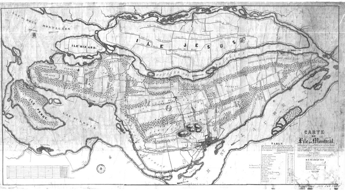 Montreal maps